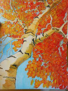 ArtMuse67: Autumn Landscape Art Project Ideas