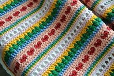 Mixed Stitch Blanket Tutorial | Beautiful Crochet Stuff