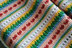 Mixed Stitch Blanket Tutorial | Beautiful Crochet Stuff ✿Teresa Restegui http://www.pinterest.com/teretegui/✿