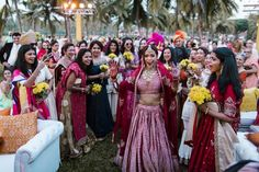 Indian bride entry theme - dancing to the mandap Wedding Photography Packages, Indian Wedding Photography, Bride Entry, Best Bride, Wedding Crashers, Indian Wedding Outfits, Wedding Story, Dream Wedding, Here Comes The Bride
