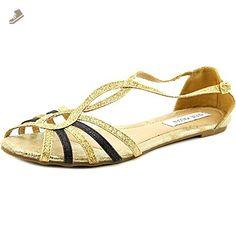Steve Madden Liina Women US 8.5 Gold Slingback Sandal - Steve madden pumps for women (*Amazon Partner-Link)