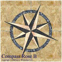 Nautical Compass Rose | compass Rose B title.jpg (65327 bytes)