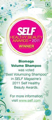 Aquage > BIOMEGA products > Shampoo & Conditioner > Volume Shampoo