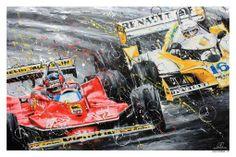 Gilles Villeneuve / René Arnoux -