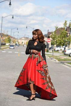 New african women printed summer boho long dress beach evening party maxi skirt African Dresses For Women, African Women, African Fashion, Women's Fashion Dresses, Skirt Fashion, Women's Dresses, Swing Rock, Style Africain