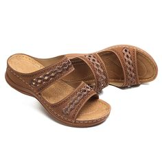 e7b0c1e7dce3b LOSTISY Handmade Stitching Hollow Casual Comfy Sandals - Banggood Mobile