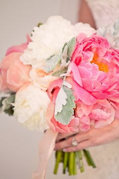who doesn't love peonies in a bouquet?