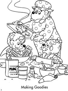 Welcome To Dover Publications The Berenstain Bears Christmas Coloring And Activity Book Jan
