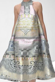 women's collection S / S 2013 by Mary Katrantzou