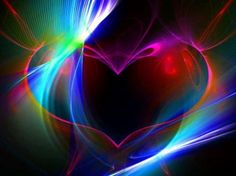 Rainbow Heart - wallpaper, rainbow, colorful, rainbow heart