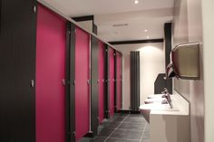 Cubico Washroom and Cubicle Systems: Standard+ range