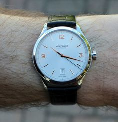 """Montblanc Heritage Chronométrie Automatic Watch Review by Patrick Kansa - Read about why Patrick loves this """"dress"""" watch for all occasions"""