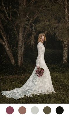 21 Wedding Dresses with Romantic Details