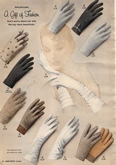 Oh-so-glovely! #vintage