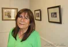 Celia Diaz, Resident Artist at Art Gallery 21   June 19, 2015