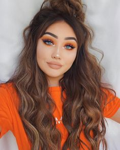 """23.6k Likes, 181 Comments - G i n a B o x ♡ (@ohmygeeee) on Instagram: """"New valentines mini lipstick by @kyliecosmetics in apricot Brows- @anastasiabeverlyhills pomade…"""""""