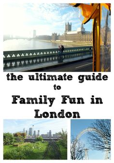London, the capital of the UK, is a great destination for families. If you're looking for free things to do in the school holidays, or seeking top-deck family fun, this guide has everything you need to start planning a family trip or day out in the capital.