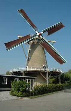 Flour mill Nooit Gedacht / De Nieuwe Molen, Colijnsplaat, the Netherlands