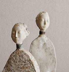 IIIINSPIRED: delicate little figurines by jiro yoshida