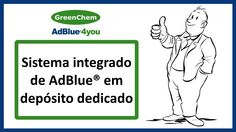Sistema de depósito AdBlue da GreenChem Portugal
