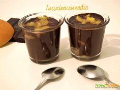 Bicchierini ciocco – arancia fatti nella vaporiera #ricette #food #recipes