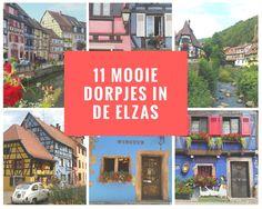 11 mooie dorpjes in de Elzas, Alsace, Frankrijk, France
