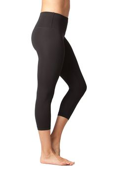 0caac89c35 Maternity Styles - Yogalicious High Waist Ultra Soft Lightweight Capris Ã'Â High  Rise Yoga Pants Black Small *** Find out more at the image web link.