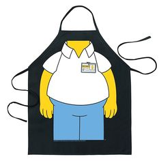 The Simpsons Homer Simpson Funny BBQ Cooking Apron http://ebay.to/2wnIyer #ebay #Canada #free #shipping #kitchen