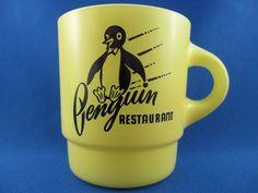 レア!ファイヤーキング・PENGUIN RESTAURANT・Fire-King・ペンギン レストラン - FireKing(ファイヤーキング)&アメリカン雑貨のToMecca