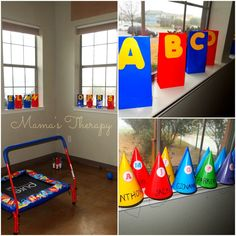 Alphabet Party Ideas from Mama's Thearapy