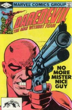 Daredevil 184 - Gun - Marvel - Marvel Comics - Man Without Fear - Nice Guy - Frank Miller (first book I bought when starting to collect)