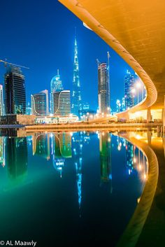 Amazing View Of Dubai.