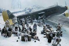 it's the last plane leaving Stalingrad