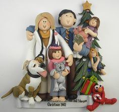 Custom Ornaments, Sculptures and Cake Toppers http://www.etsy.com/shop/BertsClayCreations