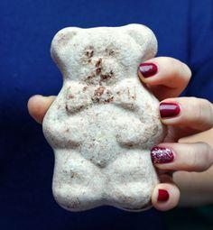 DIY Cocoa Bath Bomb Bear | The Makeup Dummy