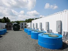 an existing flywheel storage plant