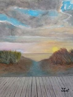 Cavendish PEI by L Gaudet on Etsy. Visit lgaudetart.ca to view more paintings.