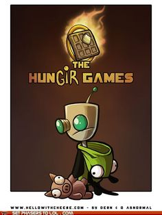 hunger games/invader zim
