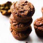 Banana Mocha Chip Muffins (vegan, paleo, gluten-free) | Feasting on Fruit