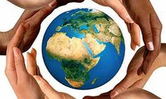 Picture of Conceptual peace and cultural diversity symbol of multiracial hands making a circle together around the world the Earth globe on blue sky and green grass background. stock photo, images and stock photography. World Globes, Cultural Diversity, Racial Diversity, Cultural Competence, Thinking Day, World Peace, Earth Day, Planet Earth, Wells
