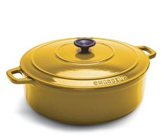 Cast Iron & Dutch Ovens - Pin it! :)  Follow us :))  zCamping.com is your Camping Product Gallery ;) CLICK IMAGE TWICE for Pricing and Info :) SEE A LARGER SELECTION of cast iron & dutchovens at http://zcamping.com/category/camping-categories/camping-cooking-and-food/cast-iron-and-dutch-ovens/ - hunting, camping essential, camping accessories, camp utensils, kitchen utensils, camping cookware  -   World Cuisine Oval Enamel Cast Iron Dutch Oven 4 1/4 Quart with Lid, Yellow « zCamping.com