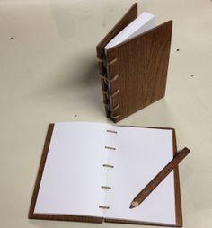 Wooden Sketchbook / Note Book