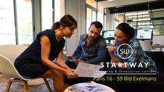 Un centre d'affaires collaboratif avec des lieux pour se réunir