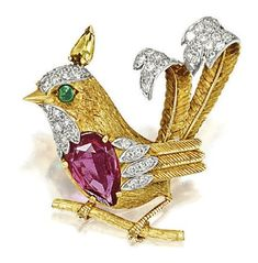 Diamond, gold, ruby beauty bling jewelry fashion