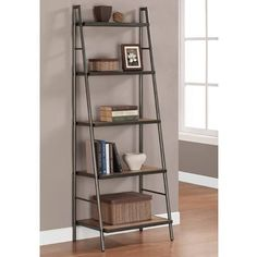 ladder style shelving industrial