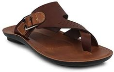 11e Brown Tan Men's PU Sole Flip Flops Thong Sandals: Buy Online at Low Prices in India - Amazon.in African Dresses Men, Tan Guys, Womens Flats, Men's Shoes, Flip Flops, Slippers, Footwear, Pumps, Mens Fashion