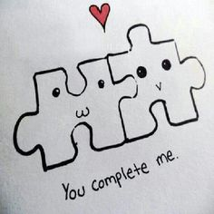 you complete me #quotes #love
