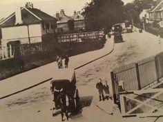 By bedhampton railway gates .
