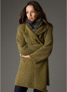 Eileen Fisher - my absolute favorite EF coat