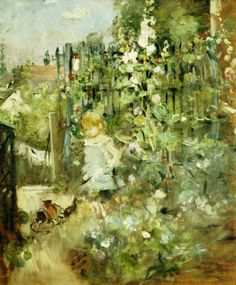 0a655d093108 Berthe Morisot Child in the Rose Garden